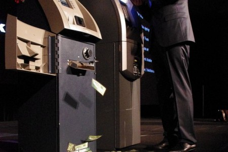 Turning an ATM into a Slot Machine