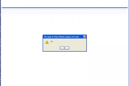XSS Flaw on PayPal.com