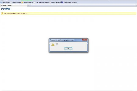 Paypal Sender Country XSS